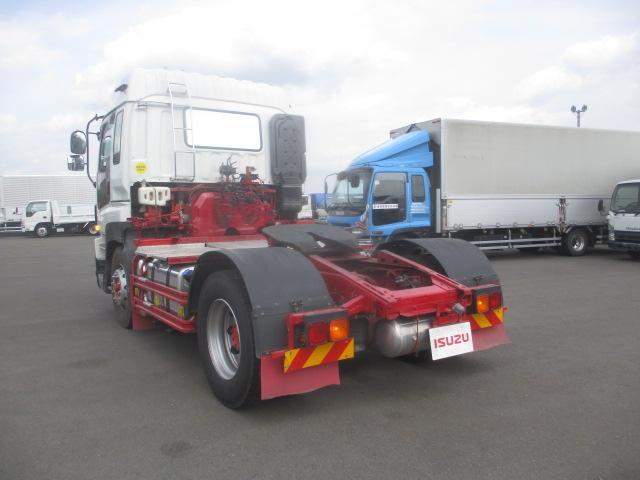トラクタ SOHSHIN製カプラ・第五輪荷重11.500kg・ハイルーフ・助手席側電格ミラー・キーレス・距離362.000km・7MT(5枚目)