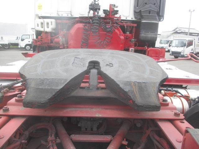 トラクタ SOHSHIN製カプラ・第五輪荷重11.500kg・ハイルーフ・助手席側電格ミラー・キーレス・距離362.000km・7MT(10枚目)