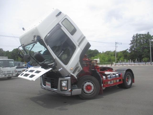 トラクタ SOHSHIN製カプラ・第五輪荷重11.500kg・ハイルーフ・助手席側電格ミラー・キーレス・距離362.000km・7MT(18枚目)