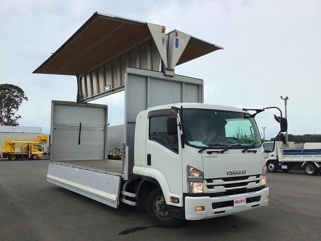 ウイング アルミウイング・6MT・日本トレクス製・積載2.700kg・ラッシング2段・引出フック5対・センタービーム・極東開発工業製パワーゲート・オートターン・昇降能力1.000kg・距離234.000km(17枚目)