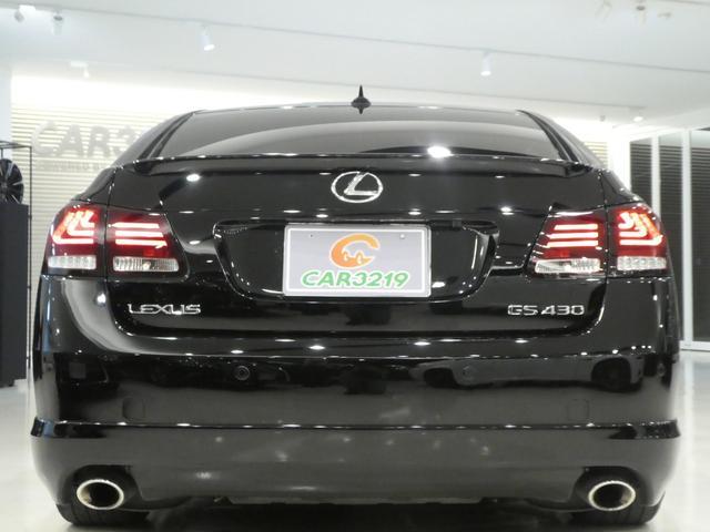 GS430 黒革 車高調 ワーク19インチ マークレビンソン(3枚目)