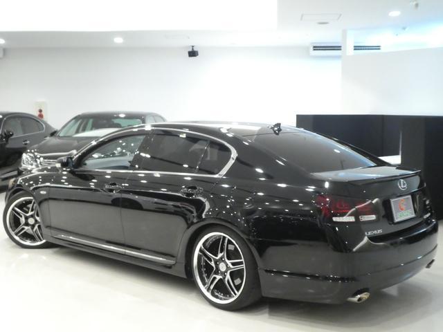 GS430 黒革 車高調 ワーク19インチ マークレビンソン(5枚目)