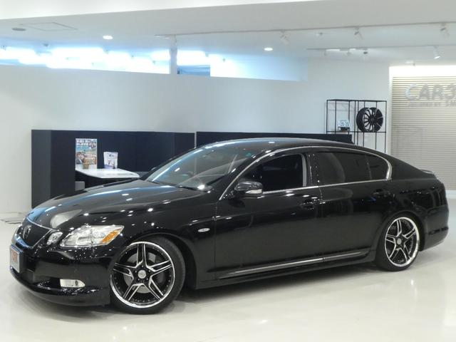 GS430 黒革 車高調 ワーク19インチ マークレビンソン(6枚目)