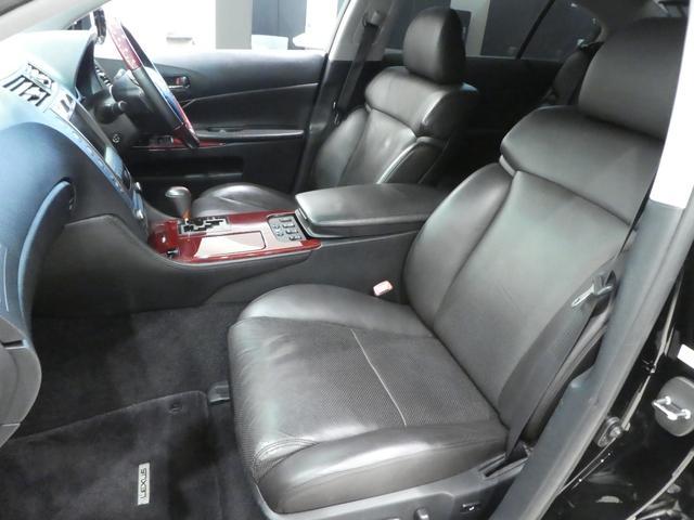 GS430 黒革 車高調 ワーク19インチ マークレビンソン(13枚目)