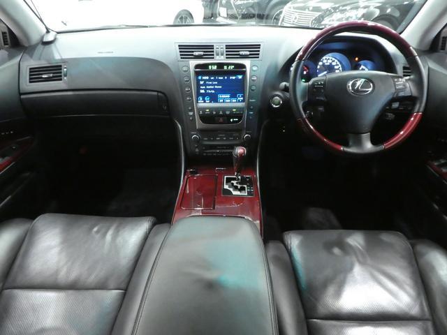 GS430 黒革 車高調 ワーク19インチ マークレビンソン(15枚目)