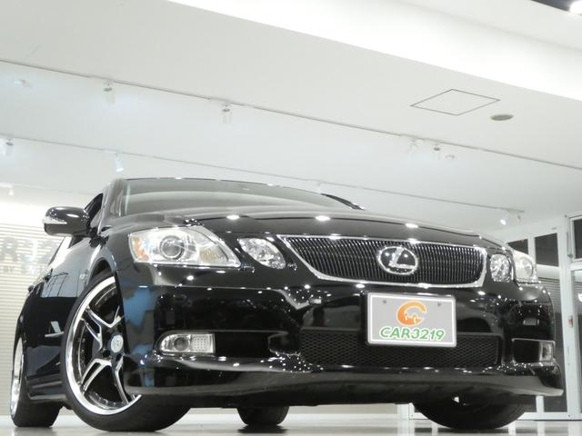 GS430 黒革 車高調 ワーク19インチ マークレビンソン(18枚目)