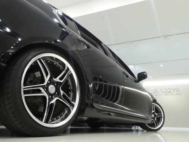 GS430 黒革 車高調 ワーク19インチ マークレビンソン(20枚目)
