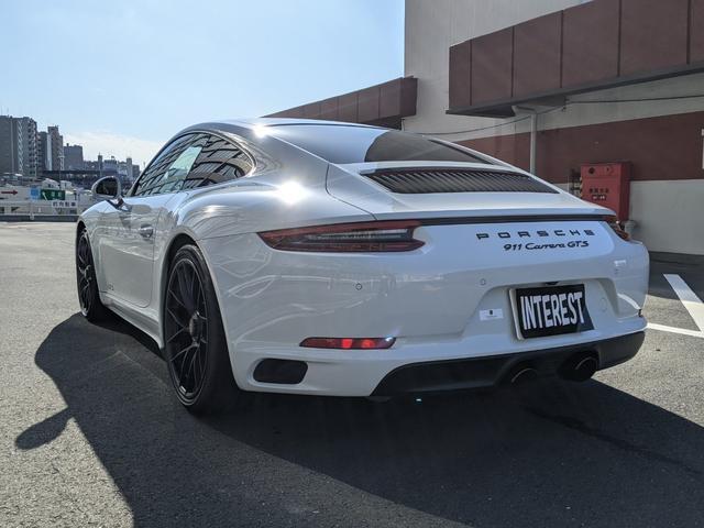 911カレラGTS スポーツクロノ スポーツエグゾースト カーボンインテリア(6枚目)