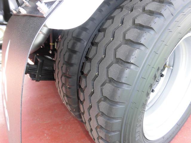 三菱ふそう キャンター 全低床 強化ダンプ 3t 極東製 新型 車線逸脱警報装置