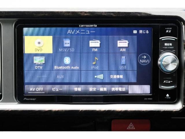 カロッツェリアSDナビ・フルセグTV・Bluetooth接続可能!!!