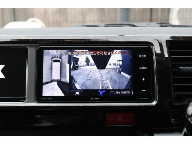 パノラミック映像とフロントカメラ映像です。