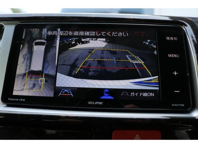 パノラミックビューモニターの映像は配線加工し、ナビで確認できるようにしてあります!!!
