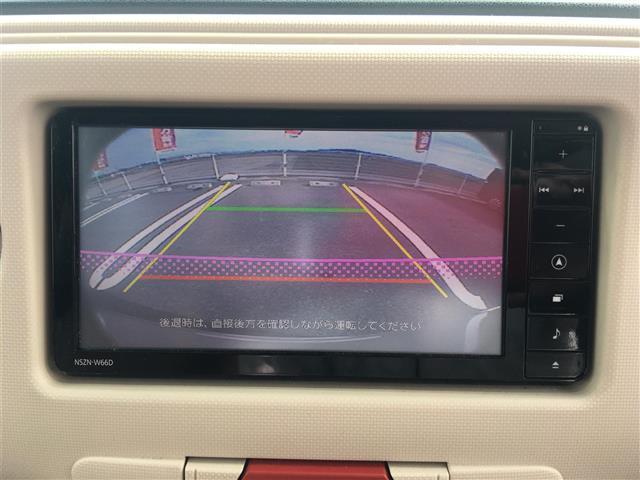 ココアプラスX スマートキー 純正メモリーナビ(NSZN-W66D)フルセグTV/CD/DVD/Bluetooth バックカメラ ルーフレール LEDヘッドライト D席シートリフター 電動格納ミラー ETC(6枚目)