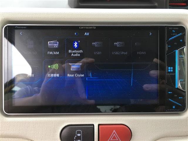 F アラモード ドゥ ・社外7型メモリナビ・フルセグTV・Bluetooth・社外前後録画ドライブレコーダー・パワースライドドア・バックカメラ・スマートキー・HIDライト・プッシュスタート(7枚目)