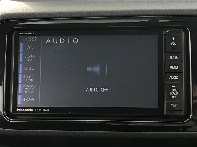1.3F LEDエディション スマートキー/プッシュスタート/社外メモリーナビ(CN-R330WD)/フルセグTV/CD/DVD/BT/HDMI/LEDヘッドライト/オートライト/アイドリングストップ/ETC(4枚目)