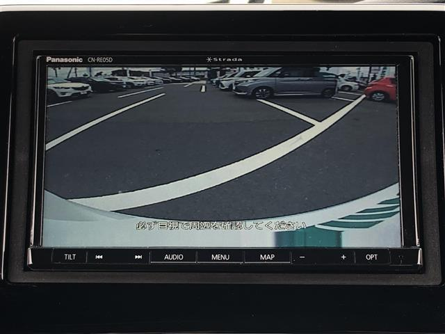 G・EXホンダセンシング 社外メモリナビ(CN-RE05D)(DTV/CD/DVD/SD/BT/AM/FM) バックカメラ 片側パワースライドドア LEDヘッドライト ビルトインETC 横滑り防止装置(4枚目)