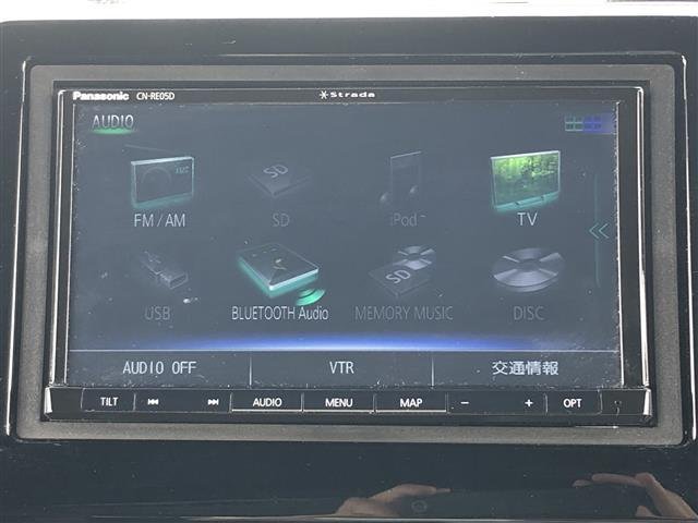 G・EXホンダセンシング 社外メモリナビ(CN-RE05D)(DTV/CD/DVD/SD/BT/AM/FM) バックカメラ 片側パワースライドドア LEDヘッドライト ビルトインETC 横滑り防止装置(5枚目)