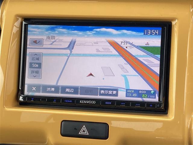 X ワンオーナー/純正メモリーナビ(FXM-E500)/フルセグTV/CD/DVD/Bluetooth/衝突被害軽減ブレーキ/HIDヘッドライト/オートライト/前方ドライブレコーダー/D席シートヒーター(5枚目)