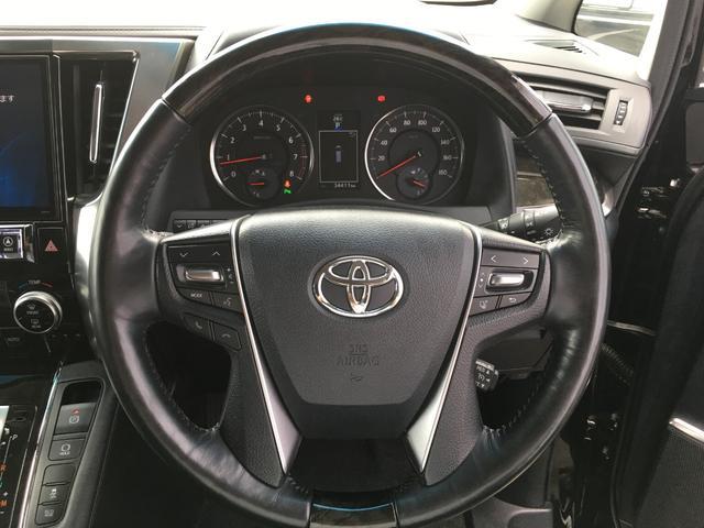 【ステアリングスイッチ】運転中もハンドルから手を離すことなく各種操作していただけますので安全に運転していただけます。