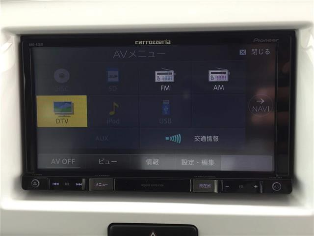 メモリーナビ フルセグTV Bluetooth USB AUX SDカード DVD再生