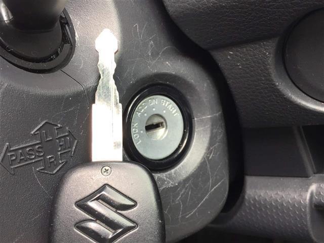 【キーレスエントリー】遠くからでもリモコンキーで開閉できます!鍵を差し込んでひねって安全運転で!