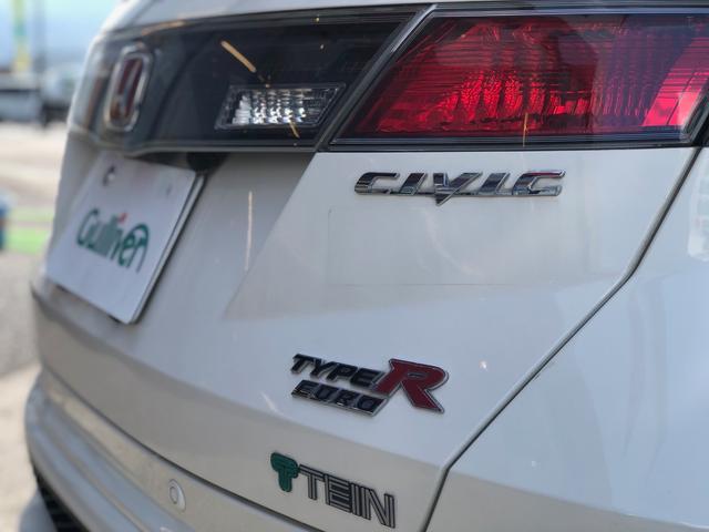 タイプR ユーロ TEIN車高調・RAYS18インチアルミ・無限リアスポイラー・SPOONブレーキ・フジツボマフラー(13枚目)