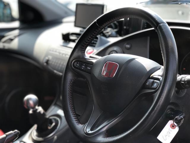 タイプR ユーロ TEIN車高調・RAYS18インチアルミ・無限リアスポイラー・SPOONブレーキ・フジツボマフラー(16枚目)