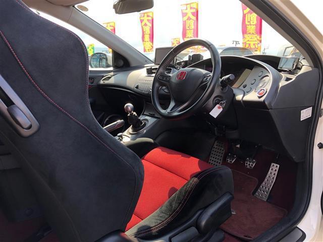 タイプR ユーロ TEIN車高調・RAYS18インチアルミ・無限リアスポイラー・SPOONブレーキ・フジツボマフラー(18枚目)
