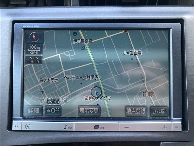 S 純正8インチナビ(CD/DVD/フルセグTV/Bluetooth)/バックカメラ/ETC/シートカバー/HIDヘッドライト/オートライト/プッシュスタート/ステアリングスイッチ/純正フロアマット(19枚目)