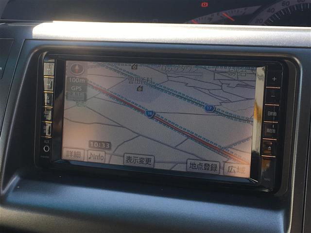 トヨタ エスティマ アエラス Gエディション 両側パワスラ 4WD HDDナビ