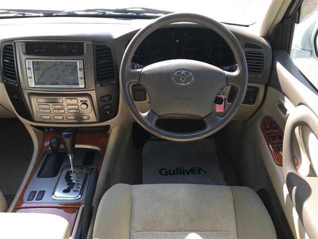 トヨタ ランドクルーザー100 VX-LTD 4WD HDDナビ ETC DVD再生 CD