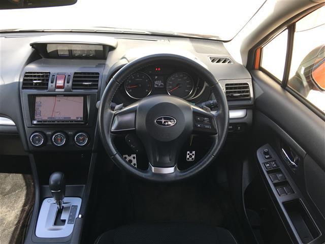 スバル インプレッサXV 2.0i-L アイサイト 4WD メモリーナビ フルセグ