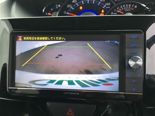 ダイハツ タント /4WD 社外HDDナビ バックカメラ 両側Pスラ ETC