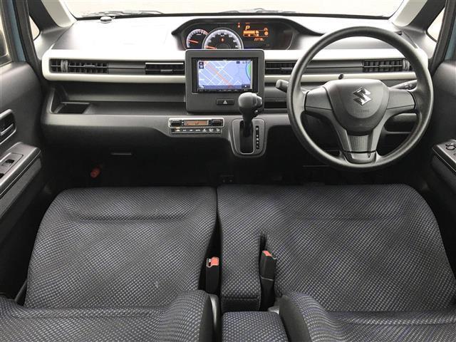 ハイブリッドFX 社外ナビ/FM/AM/BT/DVD/USB/アイドリングストップ/4WD/ABS/横滑り防止装置/シートヒーター/電格ミラー/ETC(3枚目)