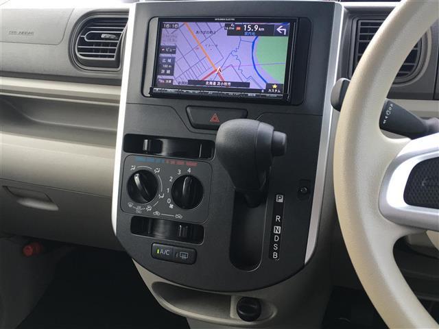 L 4WD/社外SDナビCD DVD AM FM BT USB/アイドリングストップ/横すべり防止/運転席シートヒーター/ETC/電格ミラー(17枚目)