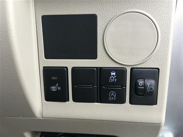 L 4WD/社外SDナビCD DVD AM FM BT USB/アイドリングストップ/横すべり防止/運転席シートヒーター/ETC/電格ミラー(19枚目)