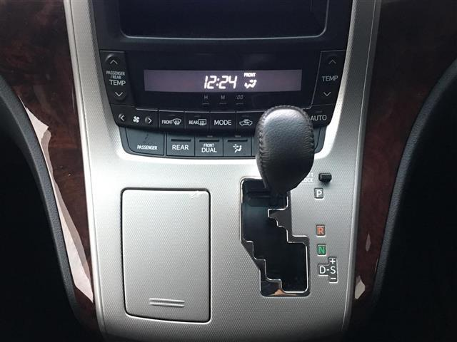 3.5Z 4WD SDナビBカメラ 片側パワスラ冬タイヤ積込(8枚目)