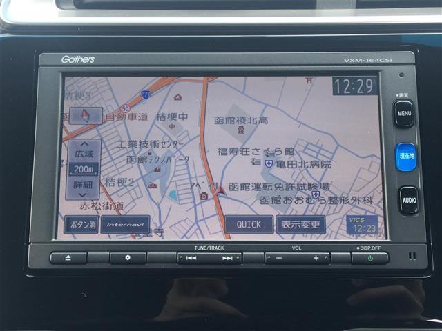 Fパッケージ 4WD 純正メモリナビ ワンセグ ETC(4枚目)