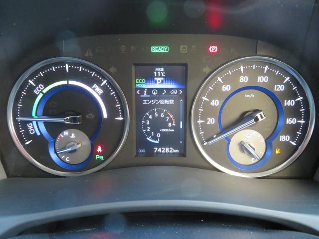 トヨタ ヴェルファイアハイブリッド ZR SDナビ・バックモニター・ETC・4WD