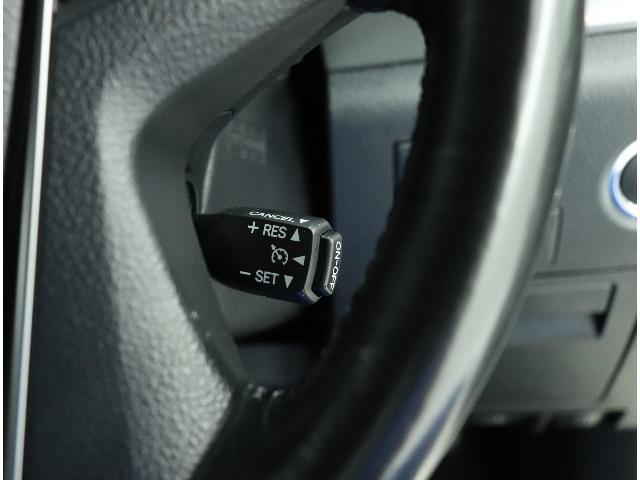 ☆ドライバーの負担を軽減するクルーズコントロール付きです。高速などでアクセルを踏まずに一定速度での走行を可能に。