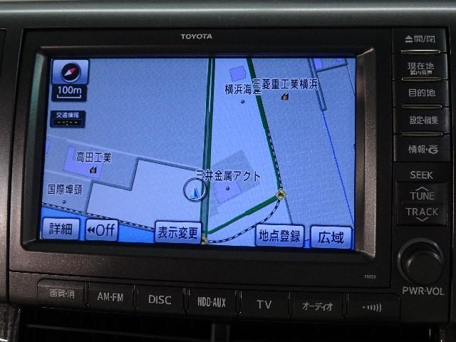 G 7人乗り Bluetooth対応HDDナビ&後席モニター(5枚目)