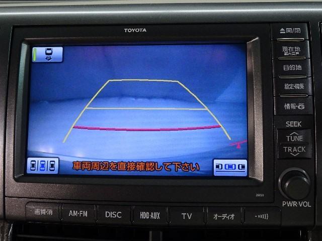 G 7人乗り Bluetooth対応HDDナビ&後席モニター(7枚目)