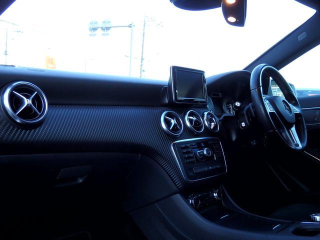 A180 ブルーエフィシェンシースポーツ 禁煙車 AMG18インチAW AMGエアロ ブラックハーフレザー HDDナビ フルセグTV パークトロニック アイドリングストップ クルーズコントロール ETC2.0 パドルシフト バックカメラ(26枚目)