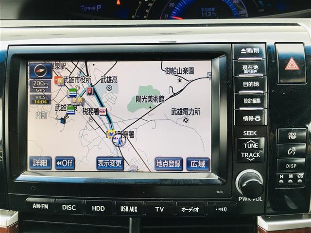 アエラス レザーパッケージ 純正7型ナビ フルセグTV Bluetooth接続可 両側電動スライドドア 電動バックドア ETC フリップダウンモニター ドライブレコーダー シートヒーター パワーシート クルーズコントロール(6枚目)
