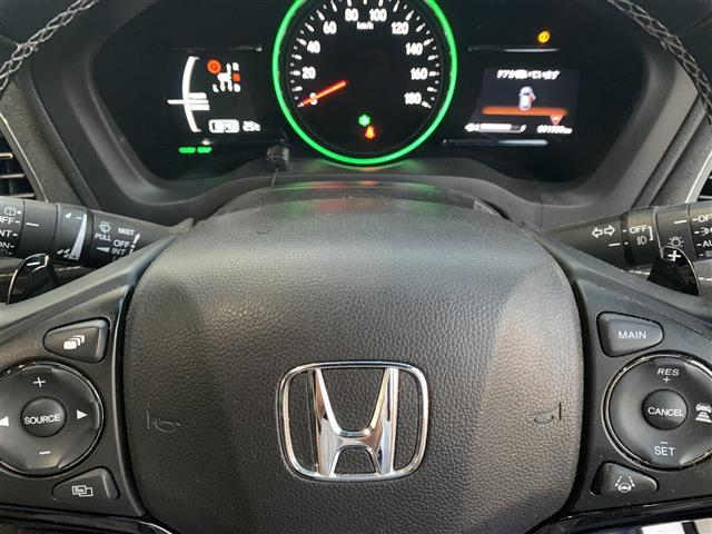 ハイブリッドRS・ホンダセンシング 1オーナー・純正ナビ・CD/DVD/Bluetooth・フルセグTV・Bカメ・ETC・衝突軽減・車線逸脱・クルコン・アイドリングストップ・Pスタート・オートライト・LEDヘッドライト・社外AW(14枚目)