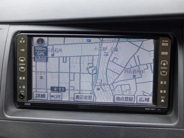 トヨタ アイシス プラタナ 左電動ドア HID HDDナビ ETC DVD再生