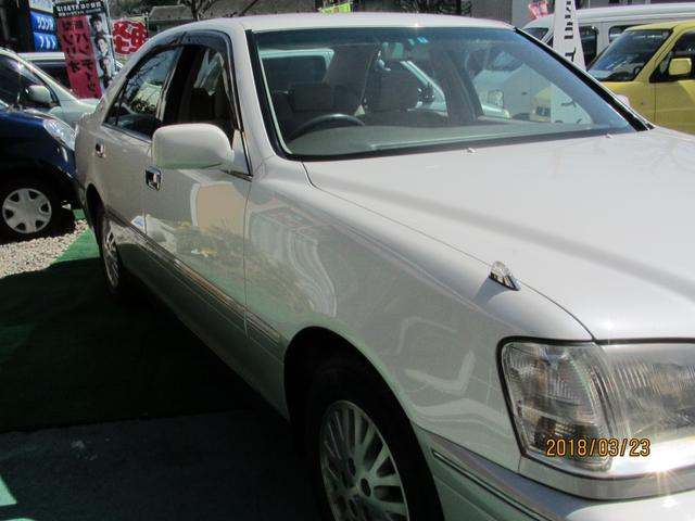 トヨタ クラウン ロイヤルサルーン ワンオーナー 禁煙車 オートライト
