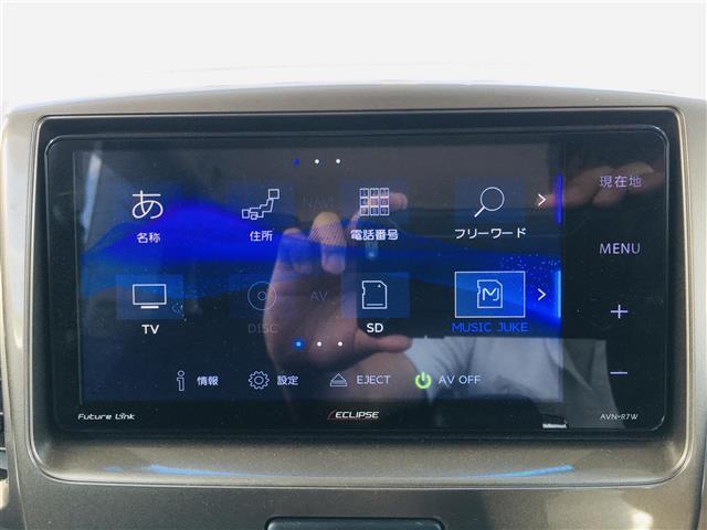 ベースグレード 社外7型ナビ AM FM CD DVD USB フルセグ Bluetoothオーディオ ミュージックサーバー 左側パワースライドドア 運転席シートヒーター ステアリングスイッチ(6枚目)