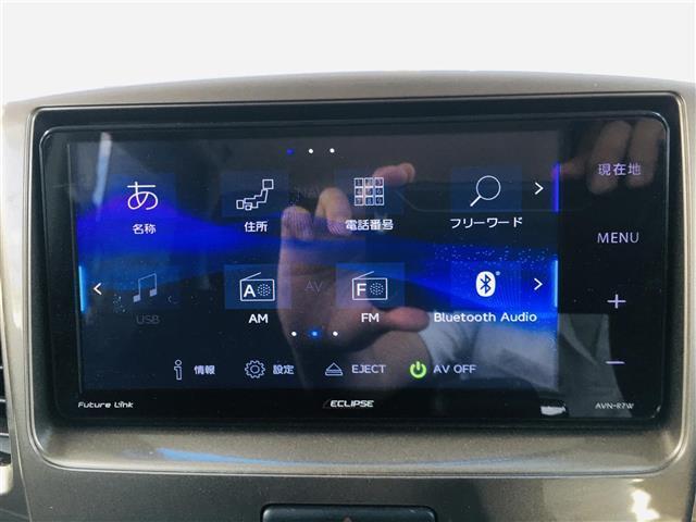 ベースグレード 社外7型ナビ AM FM CD DVD USB フルセグ Bluetoothオーディオ ミュージックサーバー 左側パワースライドドア 運転席シートヒーター ステアリングスイッチ(8枚目)