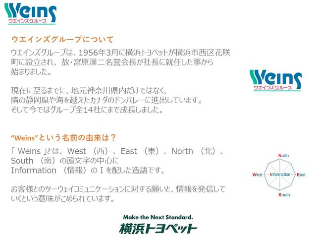 【ウエインズグループについて】 おかげさまで、 地元神奈川県内だけではなく、隣の静岡県や海を越えたカナダのドンバレーに進出しています。そして今ではグループ全14社にまで成長しました。